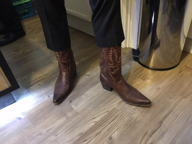 Vinny's boots!